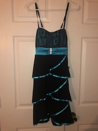 Light blue and black dress South Bend, 46637