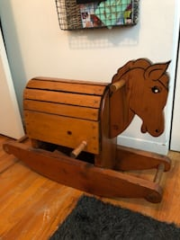 Antique Rocking Horse REDLANDS