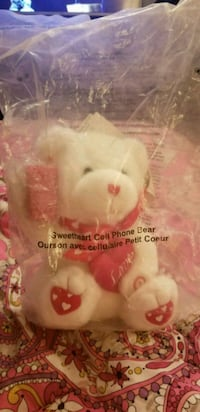 Teddy bear cellphone sings