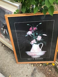 24 pieces of art includes frame $9. Each