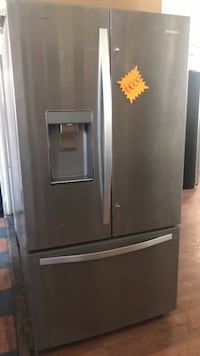 gray french door refrigerator with dispenser Santa Ana, 92701