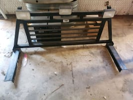 headache rack with lights. Fits a full size ford F250, F350