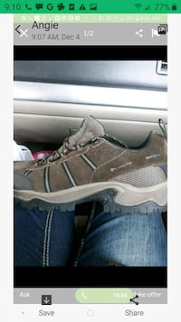 New Columbia shoes size 13 waterproof