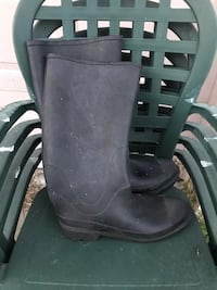Men's black rubber boots Kissimmee, 34759