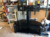 """TV Stand- was used to hold 49"""" TV but can handle 55"""" Waterford Works, 08089"""