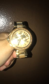 Gold jewel Michael Kors watch great condition