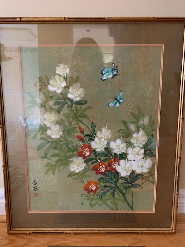 Floral painting dc2ceac5-a327-4b87-9bc8-6841110e8ca3