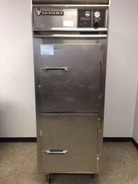 HRSA-1D-7-T VICTORY DUAL TEMP FRIDGE /WARMER PASS-THRU WILMINGTON