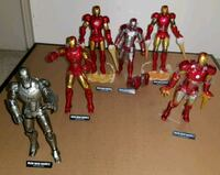 Kaiyodo Revoltech iron man figures set Richmond, V7C 3L1