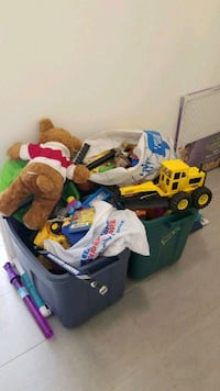 Two huge bins of toys. Assorted mix and good toys  Delta, V4C 3P9