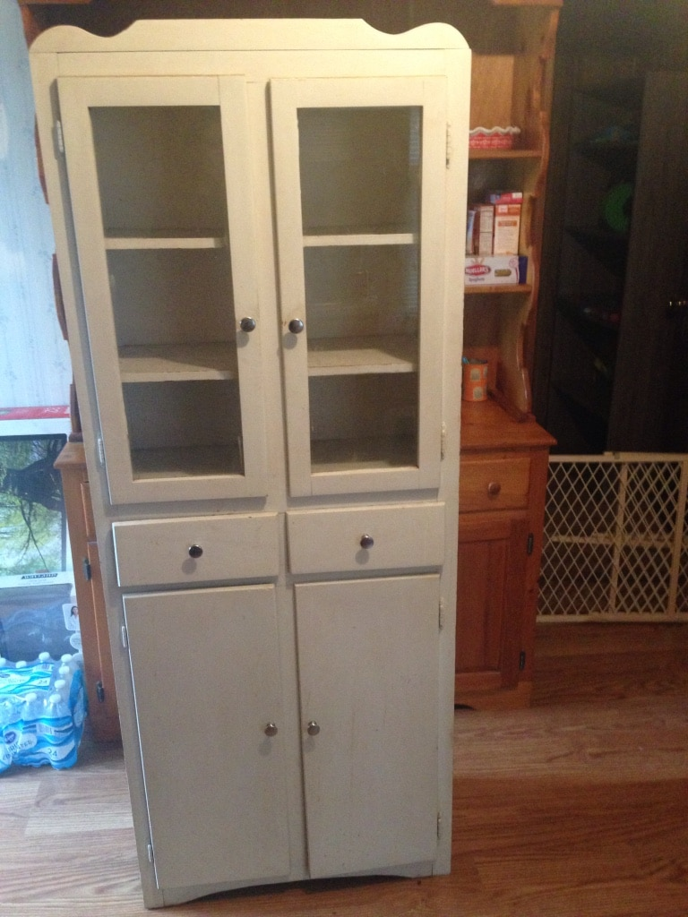 Antique Kitchen Hutch