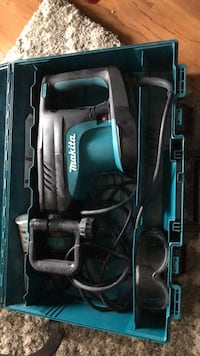 black and blue Makita corded power tool in case Fairfax, 22033