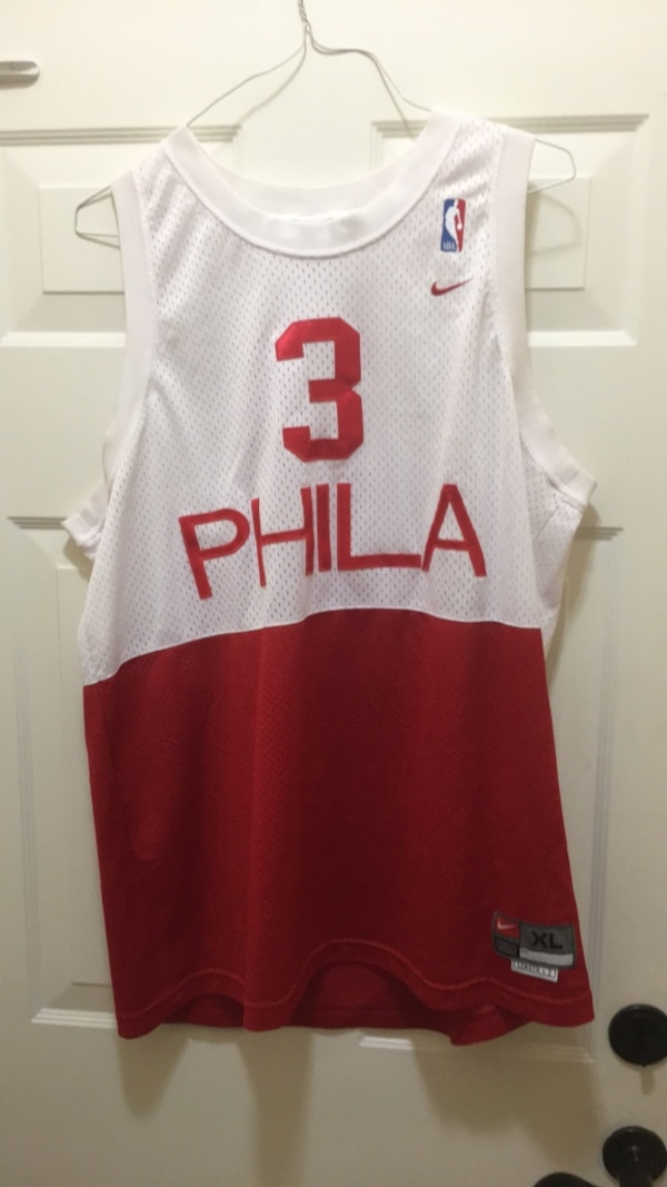 5311d558 Used Philadelphia 76ers/Allen Iverson Jersey for sale in Riviera Beach