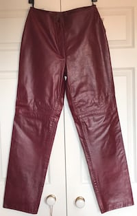 Genuine Leather Pants (Size 10)