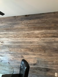 Interior design shiplap wall grey white wash finish 415 mi