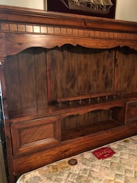 Queen bed and headboard  Richland Hills, 76118