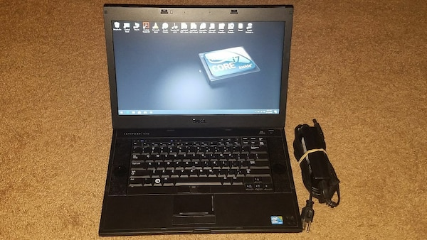 "Dell i7 15.6"" Laptop 100GB SSD 8GB RAM"