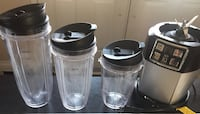 Ninja blender used with three containers - killer price Mississauga, L5N