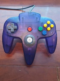 Nintendo 64 controller N64 grape purple  Vienna, 22180