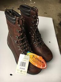 Steel Toed Boats (NEW) Size 43 Mississauga, L5K 1H2