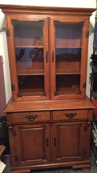 wooden China or curio cabinet Gloucester, 08012