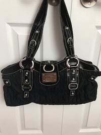 Guess black purse