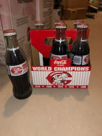 Coke Bottles Collectibles: Reds World Champs 1994 404 mi