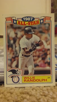 '87-88 TOPPS ALL-STAR MIKE & WILLIE