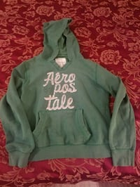 green and gray Aeropostale pullover hoodie 2470 km