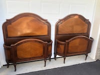 2 French provincial antique beds  Toronto, M9B 3C6