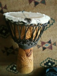 Hand carved djembe drum Corinth, 12822