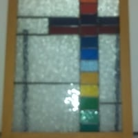 Stained Glass Hanging Picture Cambridge