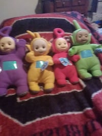 All 4 talking Teletubbies Pelzer, 29669