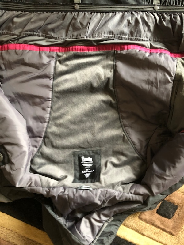 Gray and pink firefly winter jacket