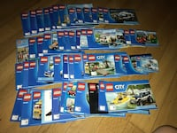 Tons of legos and sets - more than what is pictured