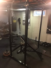 In home gym equipment