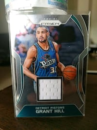 Pistons Grant Hill jersey card Paramount, 90723