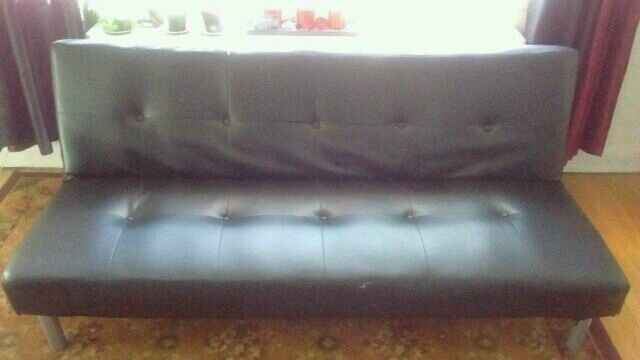 used free delivery leather sofa bed for sale in montreal letgo rh ca letgo com