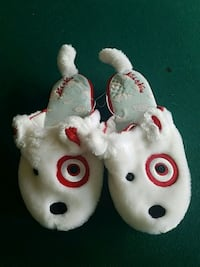 Bullseye Target dog Nick and Nora Slippers Palm Coast, 32164