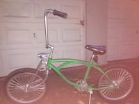 Green and silver low rider bike Portland, 97229