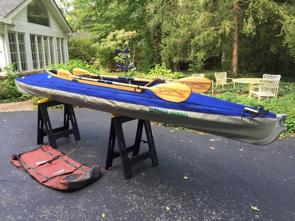 German-made 2 man folding Kayak by Klepper