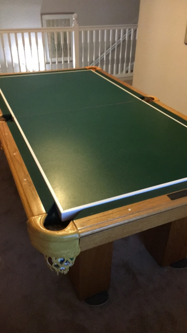 Peachy Pool Table With Ping Pong Air Hockey Addition On Top Pops Right Off For Pool Or Flip Is For Hockey Download Free Architecture Designs Lectubocepmadebymaigaardcom