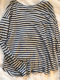 Vince striped women's shirt (medium)  Washington, 20037
