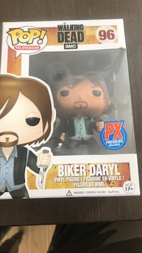 Pop! television The Walking Dead AMC 96 Biker Daryl vinyl figure box