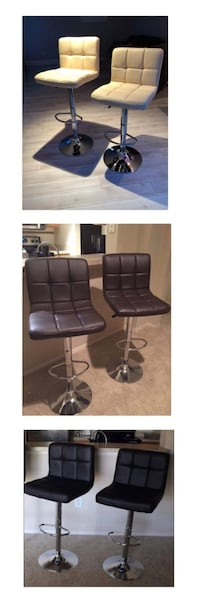 brand new in the box set of 2 chair bar stool adjustable silla cadeira 1-65$ / 2-125$ / 3-175$ / 4-230$   Clifton, 07011