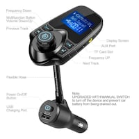 Nulaxy KM-18 Bluetooth FM Transmitter New York