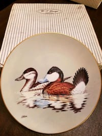 Collectible Duck Plate Mount Wolf, 17347