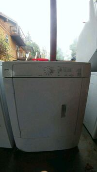white front-load clothes dryer Nanaimo, V0R