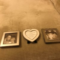 Family Tree Photo Frames - Genuine Mother of Pearl Heart Frame