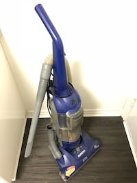 Blue and gray upright vacuum cleaner Vancouver, V5T